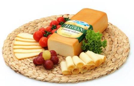 Záhorácky syr Havran parený blok údený